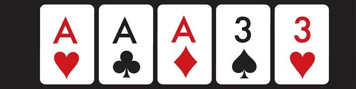 full house poker hand explained